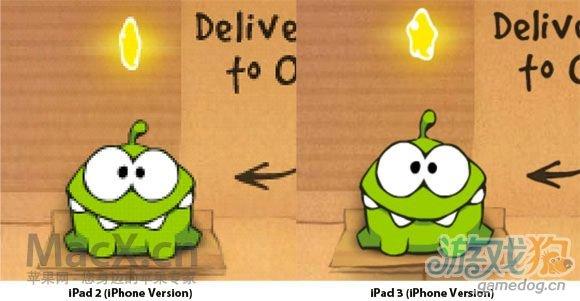 新iPad运行iPhone应用会自动使用Retina图像