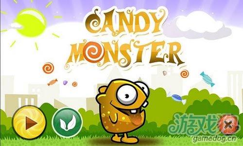Android动作冒险游戏推荐《小怪兽糖糖》