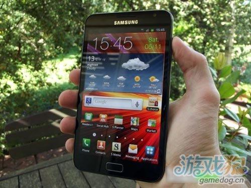 三星Galaxy Note二季度将升级至Android 4.0系统
