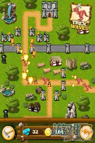 Android涂鸦风格塔防游戏《王国保卫战》