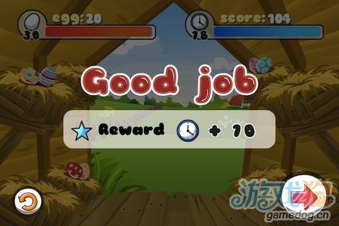 iOS平台移植益智休闲小游戏《小鸡爆蛋》