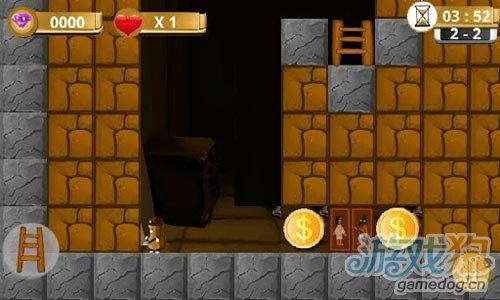 安卓休闲游戏《地下城大冒险》去寻宝吧鼹鼠矿工