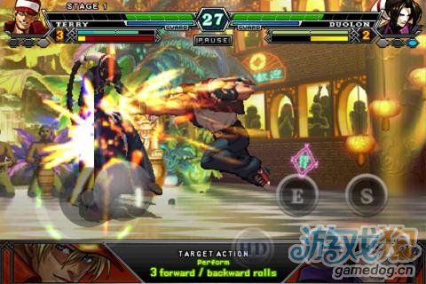 Android格斗类游戏《拳皇》重返童年回忆