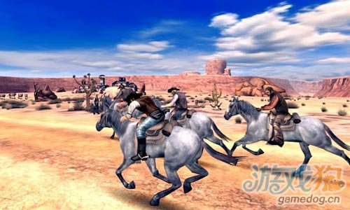 Gameloft射击游戏大作《六发左轮》登录Android
