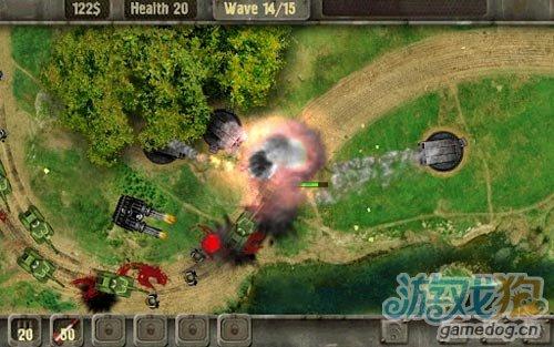 Android策略塔防游戏《战地防御高清版》