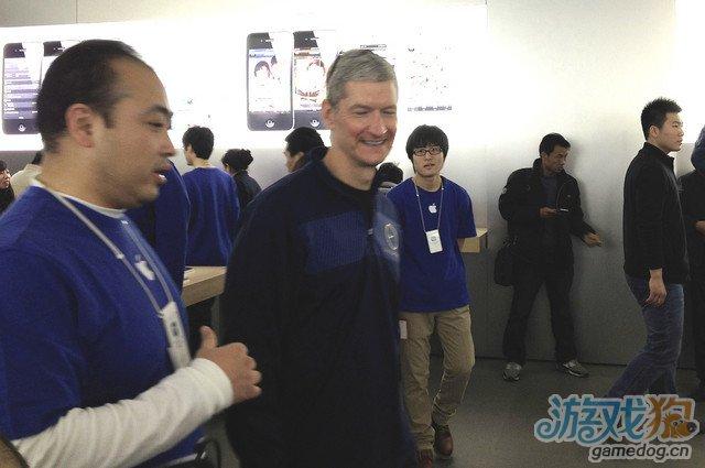 库克现身北京或将为洽谈下一代iPhone事宜