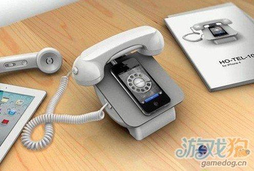 iPhone一秒钟变座机 iRetroPhone底座亮相