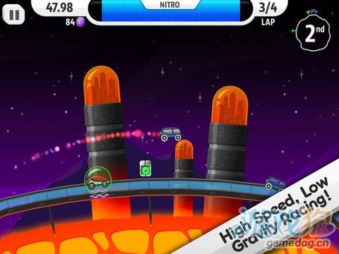 iOS另类竞速魅力游戏推荐《月球狂飙》限免下载中