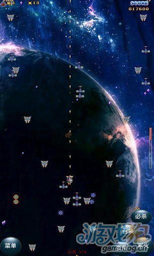 Android飞行射击游戏《星际争霸》体验华丽必杀技
