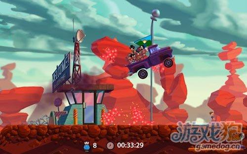 Android小清新卡通竞技游戏《走私卡车》