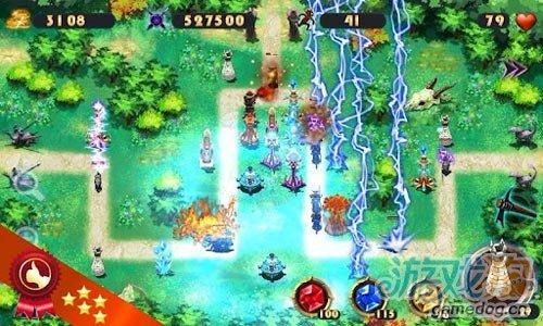 Android塔防游戏推荐《英雄塔防之元素》