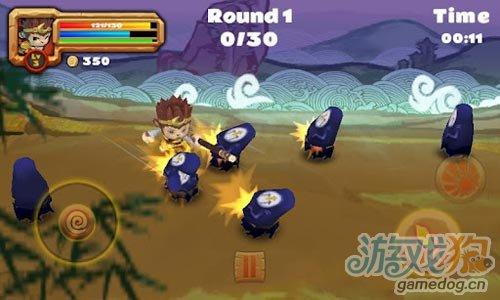 Android动作冒险游戏《孙悟空大战群魔》