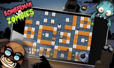 《炸弹人大战僵尸》(Bomberman vs Zombies)游戏画面