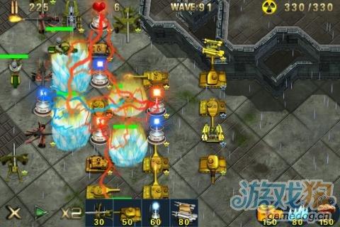 《军队塔防》(Army Defense)游戏画面