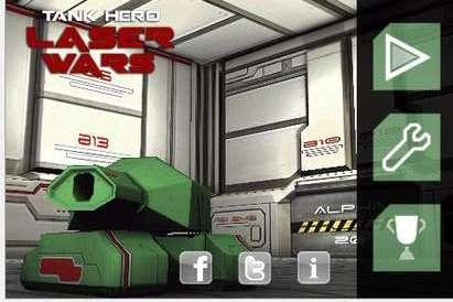 安卓飞行射击游戏《激光坦克》3D真是体验