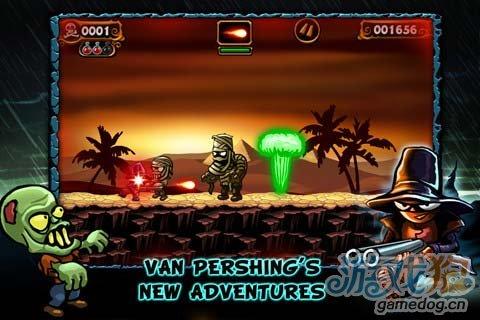 《范海辛最后之战》(Van Pershing  The Showdown )游戏画面