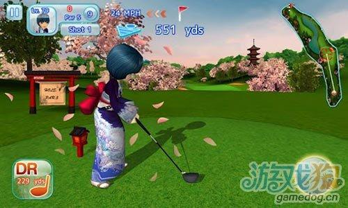 Gameloft体育游戏《一起高尔夫3》安卓版
