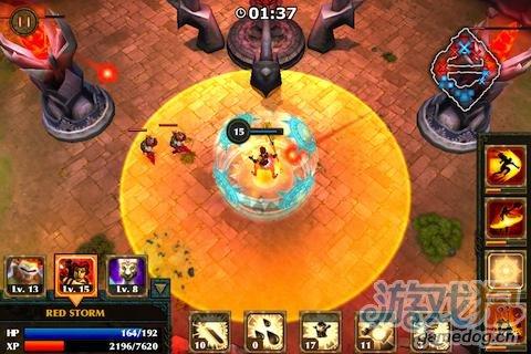 塔防《勇者传说》Android平台中的DOTA和LOL游戏