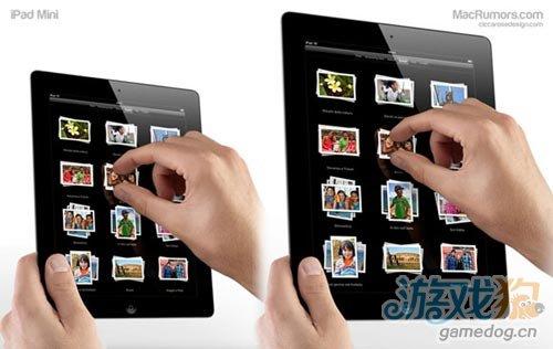传7.85寸iPad平板出现在苹果实验室中