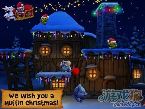 iOS横版过关冒险游戏《松饼骑士》重返马里奥经典