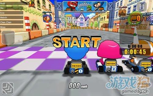 《跑跑卡丁车》(popkart)游戏画面