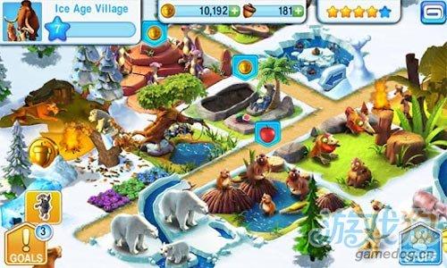 Gameloft新作《冰川时代:村庄》登录安卓