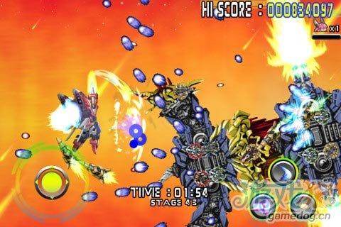 Android精品射击格斗游戏《人形机甲》日式动漫风