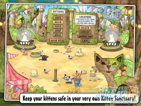 iOS萌系消除类游戏《猫猫三消》解救可爱的小猫咪