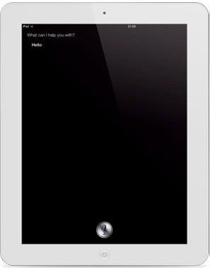iPad2越狱插件Full Siri GUI使其享受Siri
