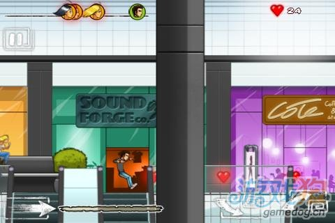 Android恶搞动作游戏《地狱暴走:伤心人》