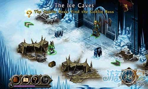 《战神的挑战》(Puzzle Quest 2)游戏画面