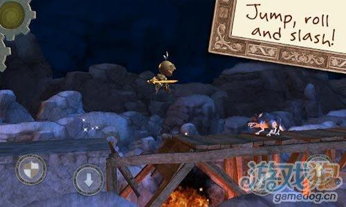 3D横版动作闯关类游戏《发条骑士》Android版
