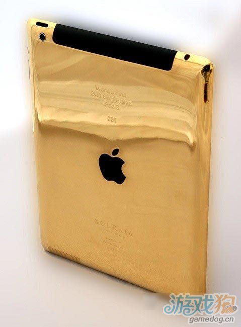5499美元:全球首款24ct黄金New iPad出炉