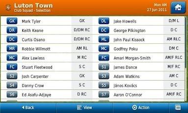 世嘉最新出品 Android版《掌上足球经理2012》首发