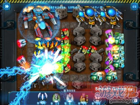 iPad高清策略塔防游戏推荐《机器人塔防》