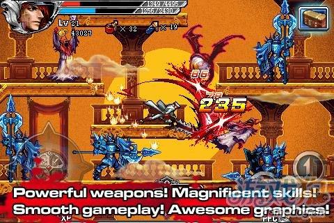 安卓横版动作游戏《复仇者》进军恶魔城