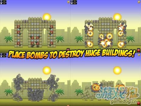 《爆破外星人》(Monster Crush - Demolition)游戏画面