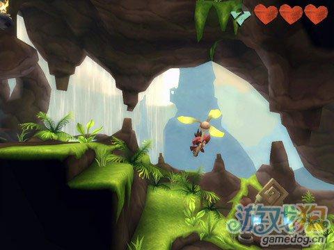 《迷失的风》(LostWinds)游戏画面