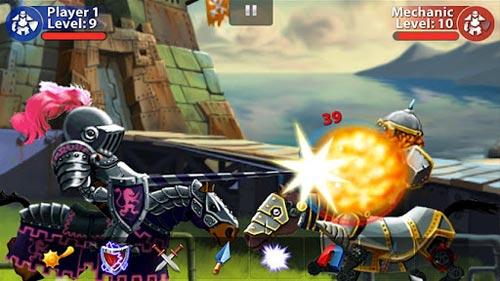 iOS移植格斗游戏《史克比亚》安卓版亮出骑士精神