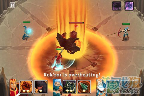 欧美魔幻风格RPG即时战略游戏《团队领袖》iOS版