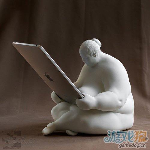 谁也阻挡不了设计师了 iPad 重量级基座