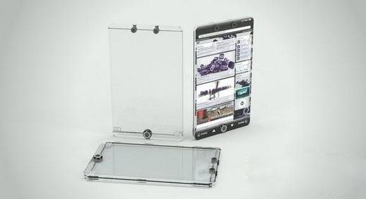 全透明无边框的苹果iPhone 5会是这样的吗