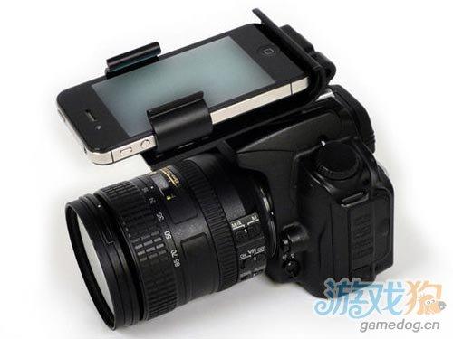 只要39美元 iPhone一秒变尼康D90闪光灯