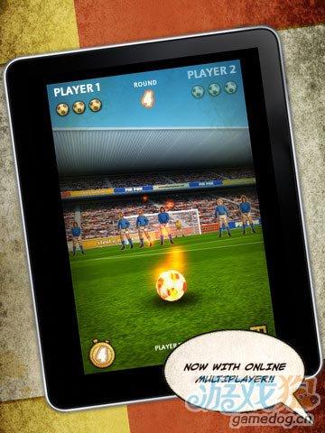 iOS另类足球游戏《手指任意球》体验精细复古画风