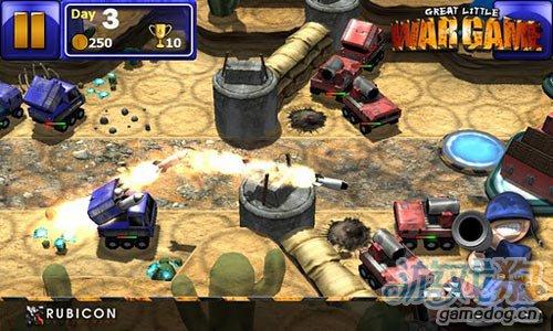 《小小大战争》(Great Little War Game)游戏画面
