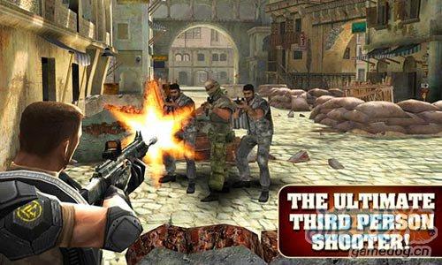 Android第三人称射击游戏《前线突击队》