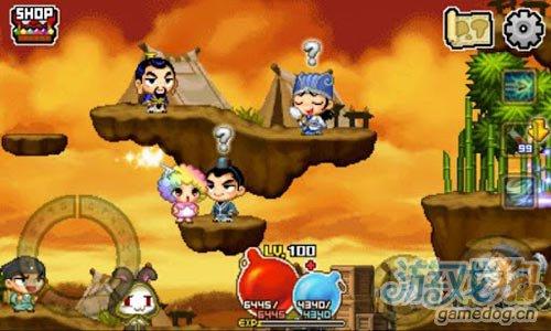 Com2uS出品Android休闲RPG游戏《小红帽穿越记》
