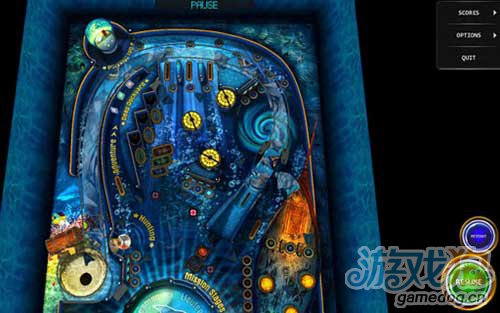 《弹珠台HD》(Pinball HD for Tegra)游戏画面