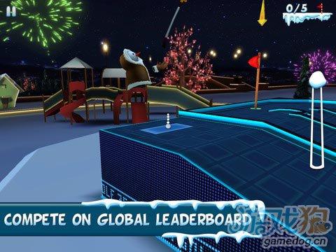 支持高清视网膜游戏《3D迷你高尔夫》iOS免费下载