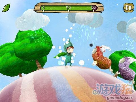 iOS清新治愈休闲游戏《那雨,那沙,那星光》